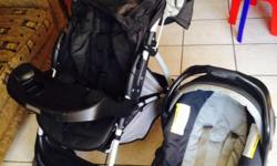 For sale is our used Graco pram and car seat. Good used