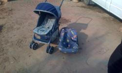 graco pram and car seat for sale in good condition R750