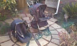 Graco pram and car seat for sale. Please contact Tammy