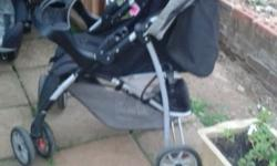 I have a black and grey graco pram and carry chair both