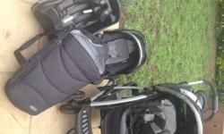 I have a Graco pram, carry cot, snug and safe with as