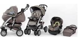 Includes stroller, car seat, base for car seat and