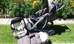 Beskrywing Brand new Graco Quattro Tour DeLuxe Pram for