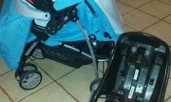 Graco mirage travel system WITH car seat base.