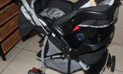Graco Ultima Travel System (Stroller + Car seat WITH