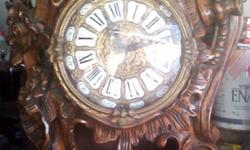 Handcrafted grandfather clock imported from Italy,