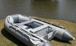 Boat is completely foldable for space saving during