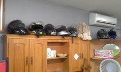 Large variety helmets. R100.00 to R750.00 0835382699