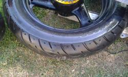 GS500E rims, tyres, brake calipers,discs(front and