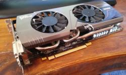 GTX 680 great condition, silent twin high rpm fans,
