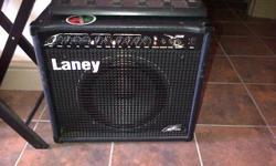 Laney guitar amp, very good quality and very loud. and