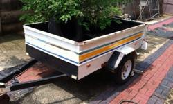 Torsion Box Trailer in Good condition. All paperwork in