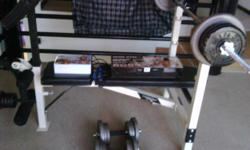 Beskrywing maxed gym bench: incline, flat, decline