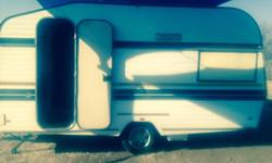 Cute old caravan for sale with full tent and rally