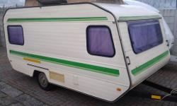 This is a Gypsey Caravett 5 with full tent patio tent