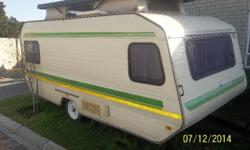 Very Neat caravan. Fully sealed with no leaks.  All