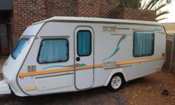 Gypsey Regal 1998 with side tent and rally awning with