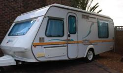Gypsey Regal 1998 with L shape tent. With rally awning
