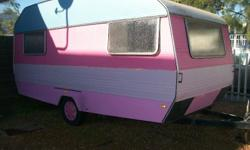Caravan can be used as a tuck shop or you can put in