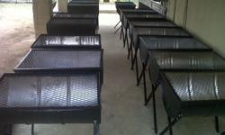 Half drum braais for sale - we manufacture traditional