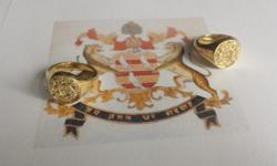 we engrave family crests and monograms and stock a