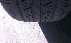 4 tyres, Excellent condition. 5.5mm+ tread still left.