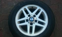 15 INCH USED BMW WHEELS PCD : 5 X 120 PLEASE CONTACT