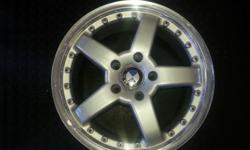17 INCH 5 X 120 USED HARMAN REPS SIZE : 17 INCH PCD : 5