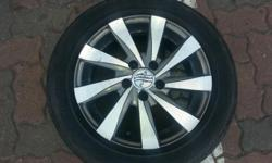 14 INCH 5 X 100 PCD USED RIMS & TYRES SIZE : 14 INCH