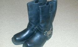 Harley Davidson Ladies Boots no 5 in black leather,