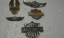 Harley Davidson Pins.  Please call to view.  R30.00