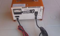 One brand new 220v Hawkins 24v battery charger with