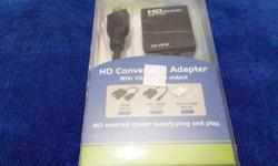 HDMI to VGA with Sound Converter still in packaging