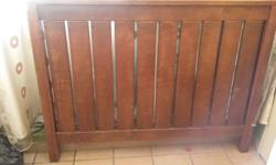 Headboard and Pedastals(2)