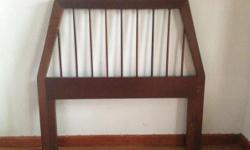 I have 2 solid wood Binnehuis headboards for sale at
