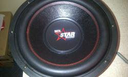 2x Starsound 12 inch SVC subwoofers.Brand new.R300ea