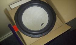 2xT3 T.1000 competition subwoofers. 1000W RMS. Brand