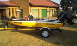 2012 splash bass boat with 60 hp yamaha motor(good