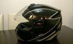 Full face large Bikers helmet for sale. Very good