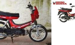 50cc 2-stroke. Very good condition, but standing for