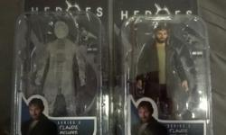 HEROES TV SHOW RARE MINT CLAUDE ACTION FIGURES.THIS