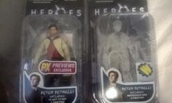 HEROES TV SHOW RARE FIGURES THIS INCLUDES 2 PETER