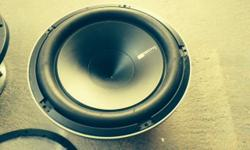 I have a Hertz 12 inch Sub HX 300D in good condition.