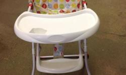 Peg-perego feeding chair adjustable height, 5 point