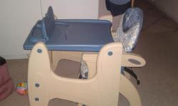 Soort: Baby Gear very stable high chair and you can