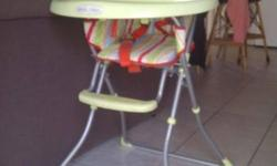 very good condition high chair for sale