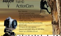 The new action camera captures beautiful full HD 1080p