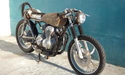 Honda CB400 Rat Café Racer. Papers in order. Contact me