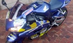 Honda CBR 1000 RR 2005 model with 40 000km. New tyres