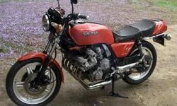 Honda CBX 1000 big six in excellent original condition.